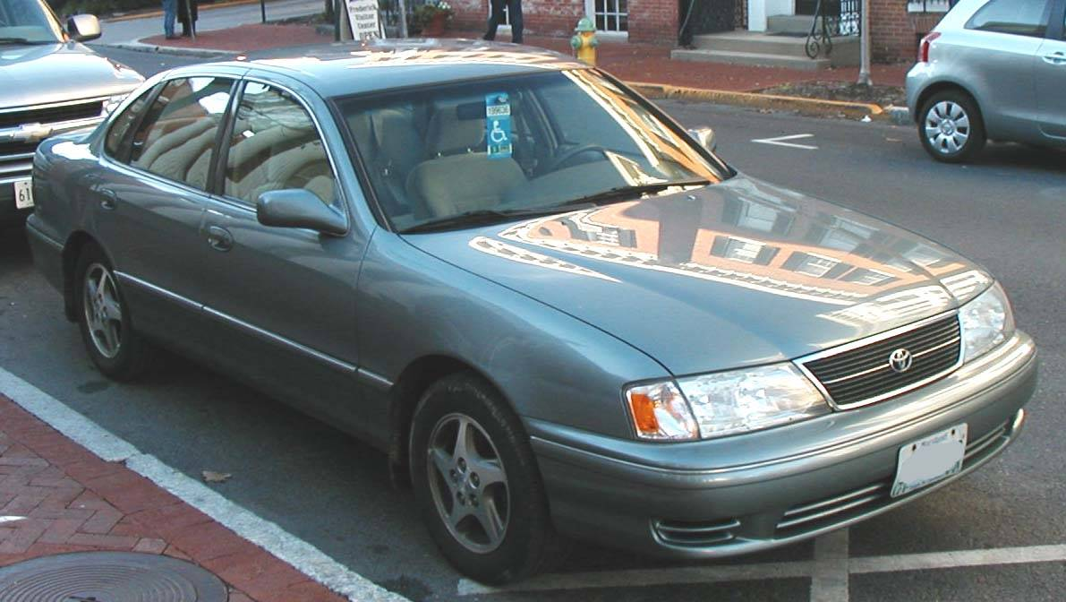 1998 toyota avalon xls owners manual